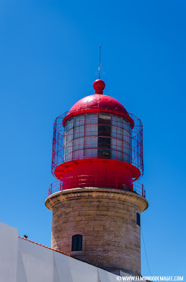 Las mejores playas del Algarve - Faro del Cabo de San Vicente
