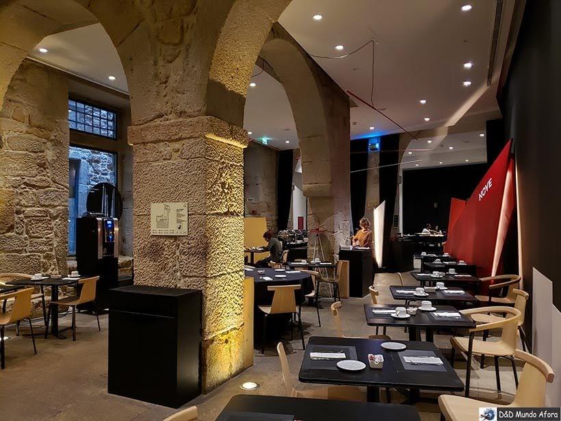 Restaurante Nave Nove do hotel Carris Porto Ribeira: onde ficar no Porto