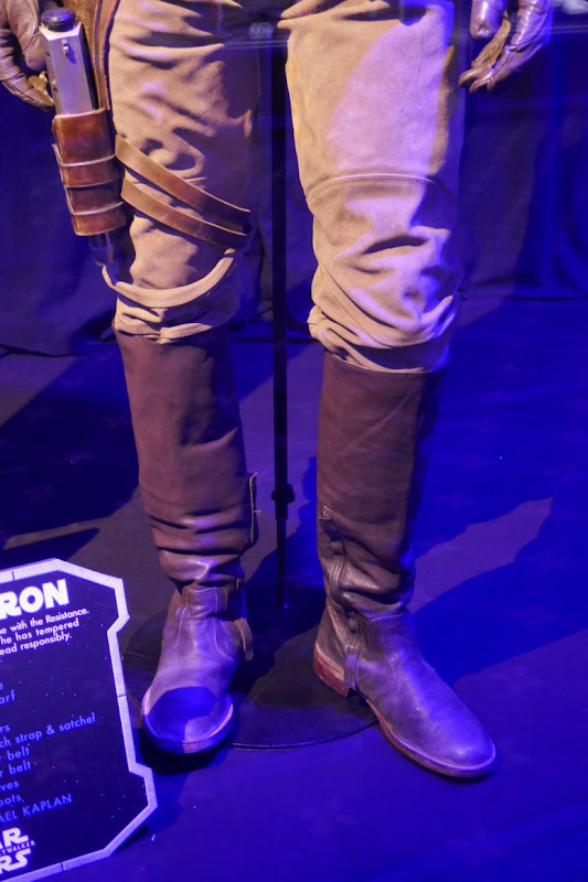 Poe Dameron costume boots Star Wars Rise Skywalker