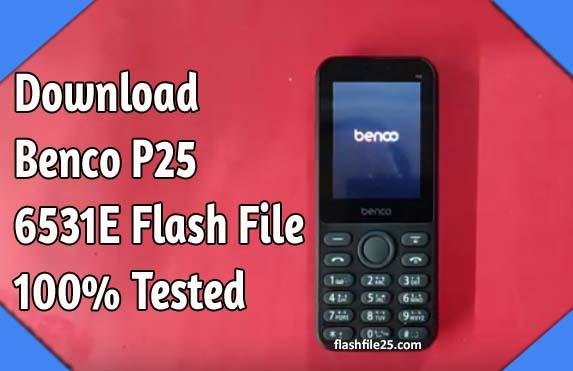 Benco P25 6531E Flash File