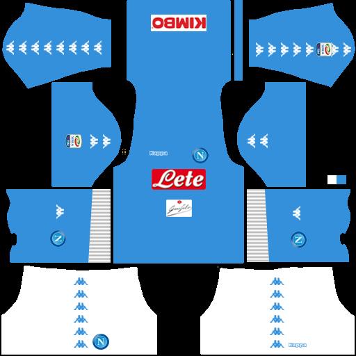 traje Napoli futbol