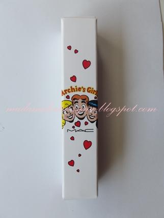 Mac Archie's Girls lipglass♥ czyli różowa miłość Stay Sweet Betty