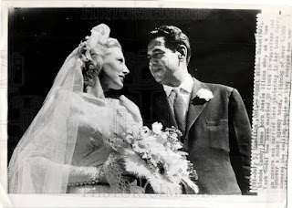 Candy Jones with Harry Conover, her first husband