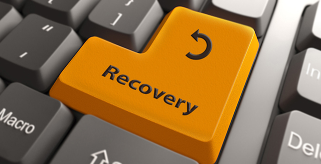 Improving Your Recovery Process After a Cyber Incident - Computer keyboard graphic