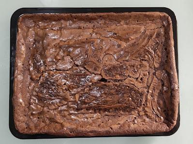 Brownies, brownies kedut, resipi brownies kedut, resipi brownies moist, resipi brownies kedut cheewy, cara buat brownies kedut, brownies mudah sedap