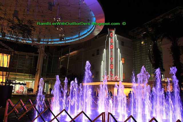 Fountain, Capitol Theatre, Singapore