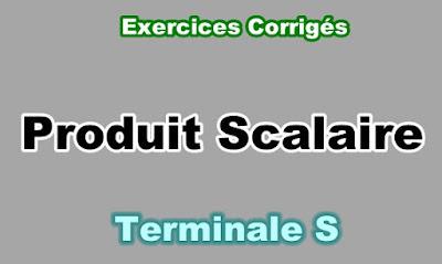 Exercices Corrigés de Produit Scalaire Terminale S PDF