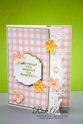 Rick Adkins, Stampin' Up! Thoughtful Blooms Stamp Set
