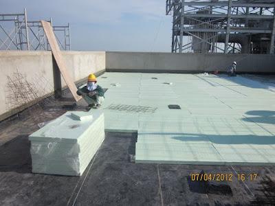 ECO XPS cách nhiệt cho sàn bê tông như thế nào