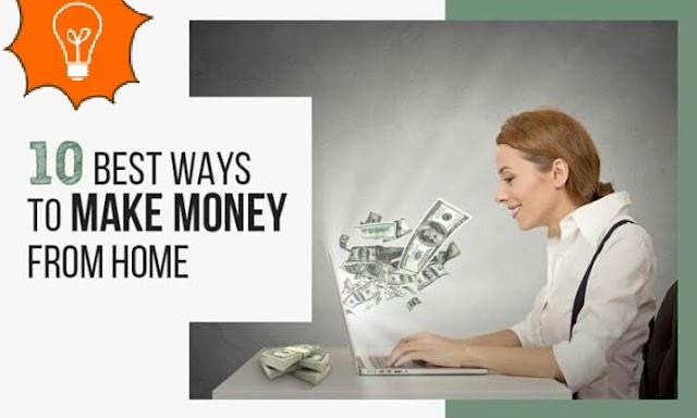 Make Money From Home घर से पैसे कमाने के 10 तरीके - Pure Gyan