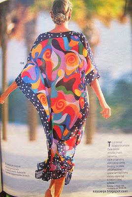 ba29c4267f Zainspirowana tym modelem uszyłam suknię