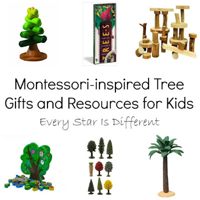 Montessori-inspired Tree Gifts and Resources for Kids