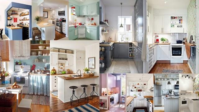 Διαμορφώσεις - σχεδιασμός για Μικρές Κουζίνες