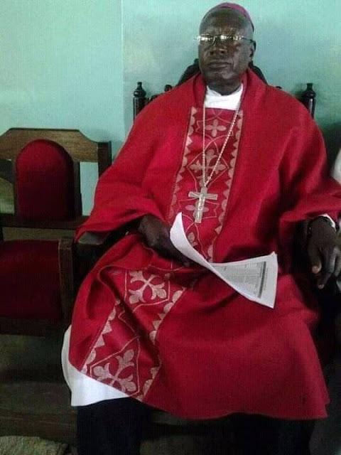 Former Homa Bay bishop Archbishop Emeritus Linus Okok