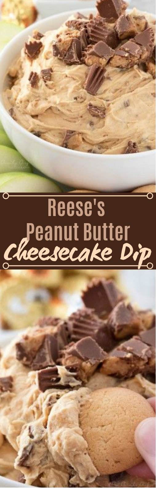 PEANUT BUTTER CHEESECAKE DIP #desserts #peanutbutter