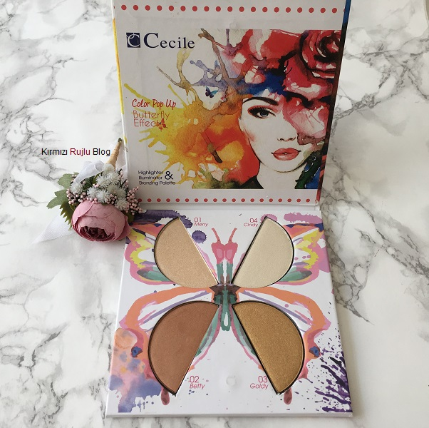 Cecile Color Aydınlatıcı Paleti