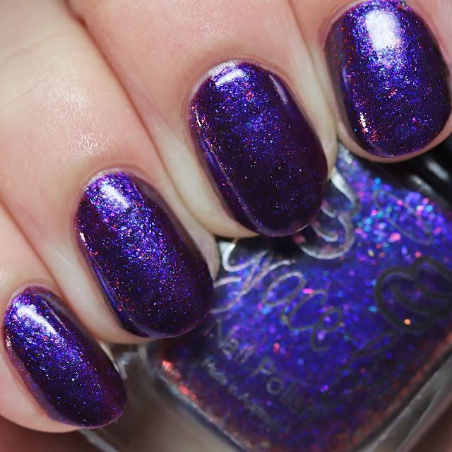 Grace-full Nail Polish Midnight Lotus