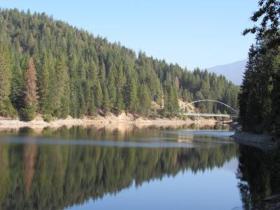wagon creek bridge lake siskiyou mount shasta california