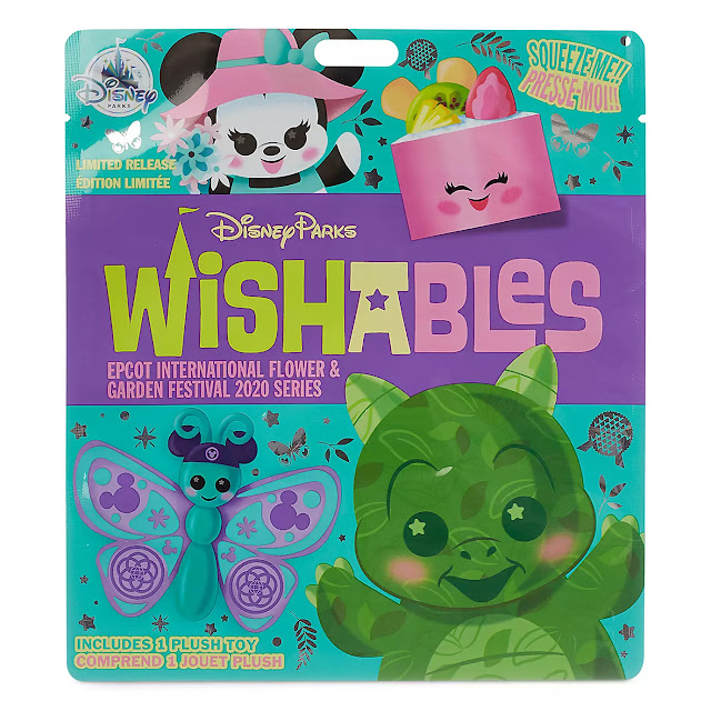 Epcot Flower and Garden Festival Wishables Pack