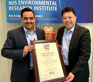 Singapore  सिंगापुर सरकारी अधिकारियों ने सहारा एंबी वैली सिटी को बताया आदर्श स्मार्ट सिटी