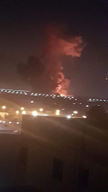 حريق مطار القاهرة الدولي | فيديو انفجار خزان الوقود واصابة عشرات الاشخاص