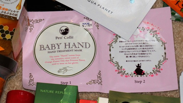 Peti Colle Baby Hand Treatment Mask