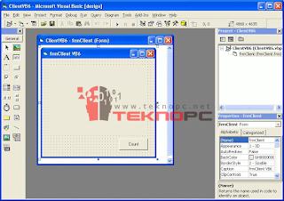 Visual Basic 6.0 Portable Görsel