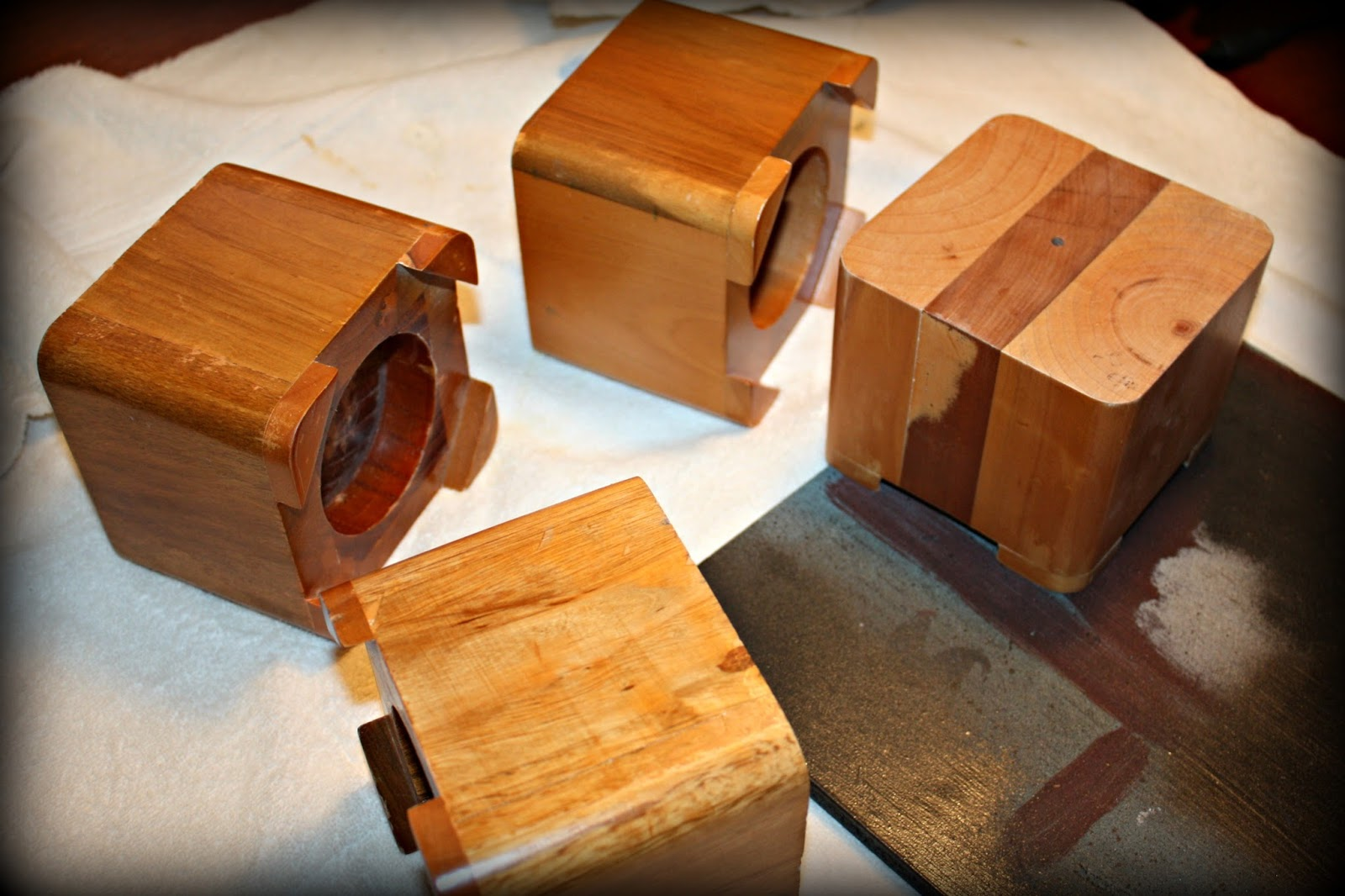 Wood Bed Risers