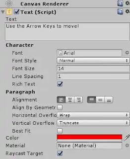 Unity 3D: إضافة unity UI Elements إلى Canvas اللعبة