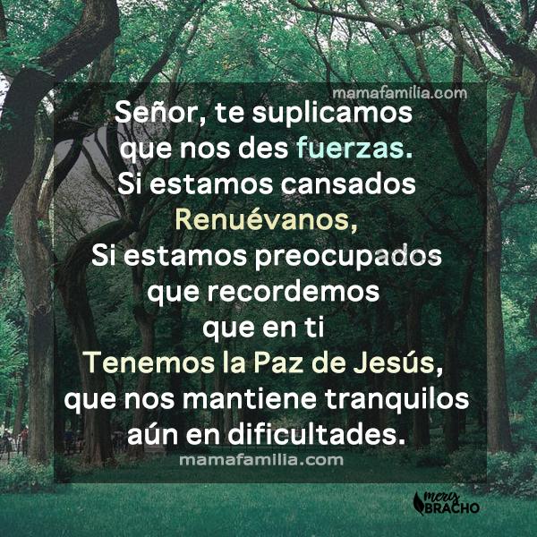 oracion para la familia en la mañana cuando inicia el día frases cristianas para orar por Mery Bracho