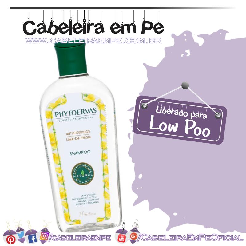 Shampoo Antirresíduos Lima da Pérsia - Phytoervas (Low Poo)
