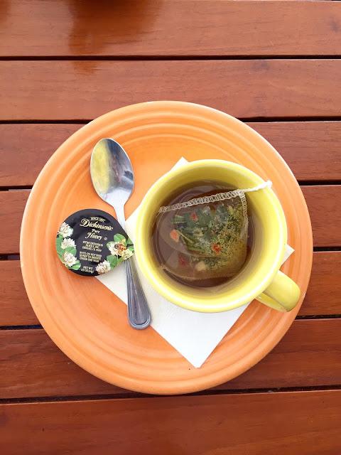 Crystal Cove Beachcomber Cafe tea