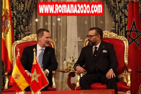 ملك إسبانيا يتشاور مع الملك محمد السادس حول أزمة فيروس كورونا المستجد covid-19 corona virus كوفيد-19