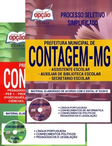 Apostila Concurso Prefeitura de Contagem 2018