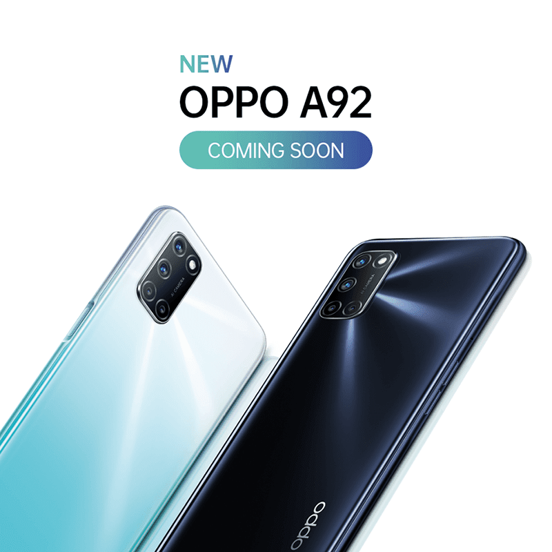 OPPO A92 is coming to the Philippines soon!