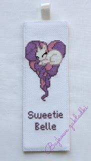 Zakładka do książki Sweetie Belle – Sweetie Belle bookmark