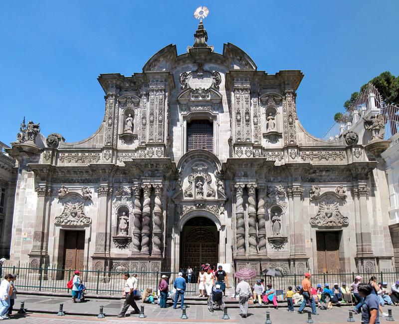 La Iglesia De La Compañía Una Joya Del Arte Barroco En: Filosofia Y Arte Al Estilo Paulista : El Barroco Americano