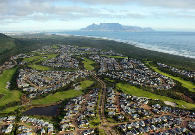 Blouberg suburbs in Capetown