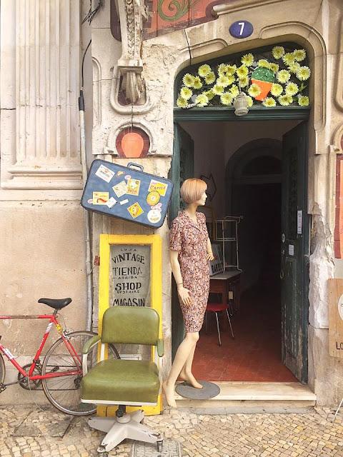 a Porta Verde, loja vintage, aveiro, tienda vintage, vintage shop