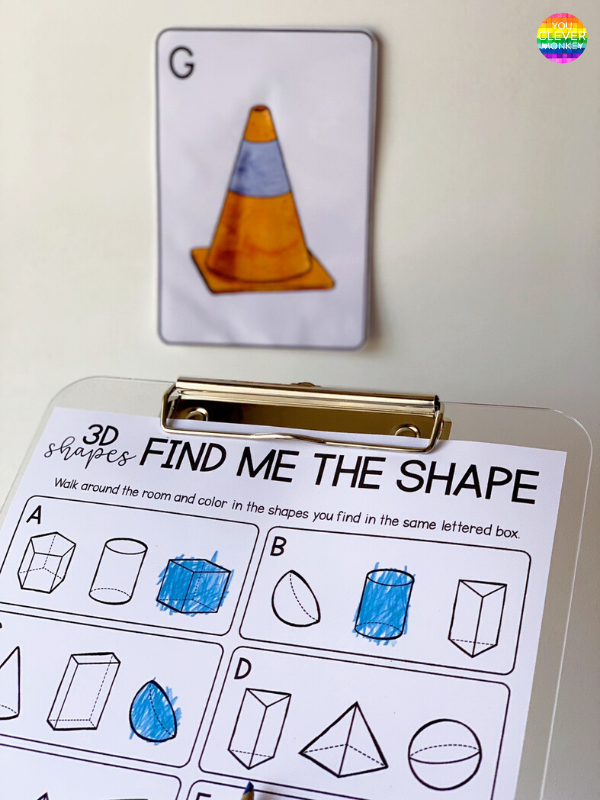 3D Shape Draw The Room Pack | you clever monkey