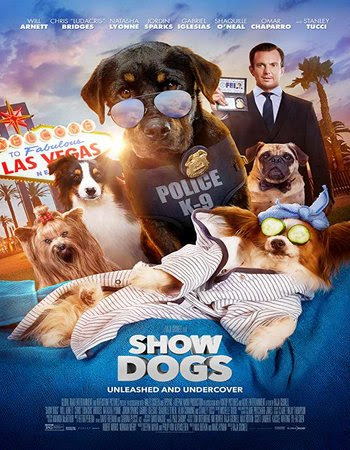 Poster Of Show Dogs In Dual Audio Hindi English 300MB Compressed Small Size Pc Movie Free Download Only At worldfree4u.com