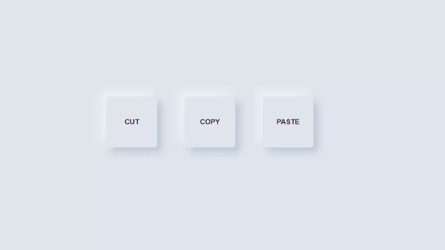 Pure CSS3 Soft-UI Button Pattern