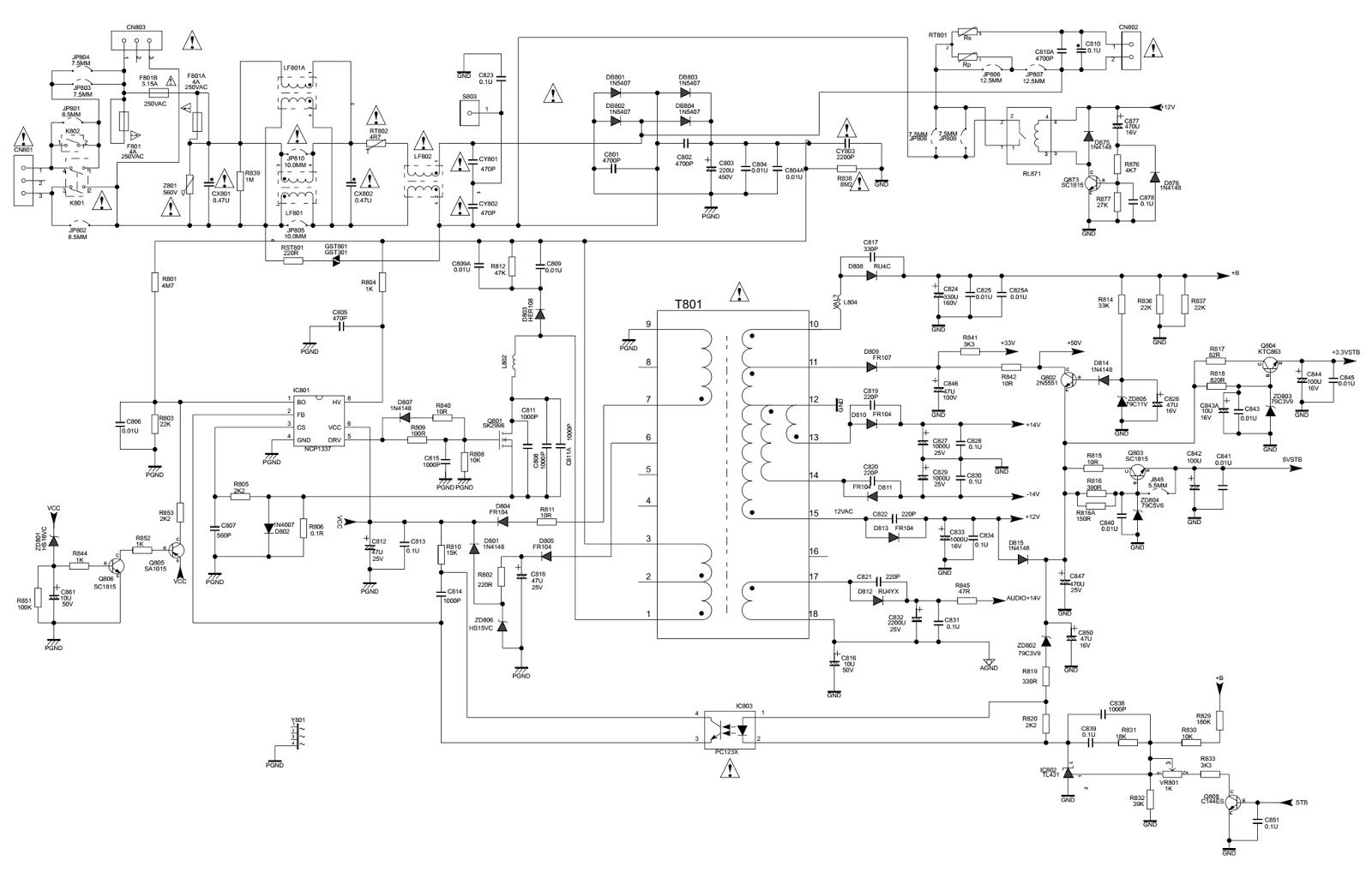 Philco 42 390 Wiring Diagram 28 Images Circuit Together With Pool Light Transformer Smps Wire Color Diagrams Basic Electrical At