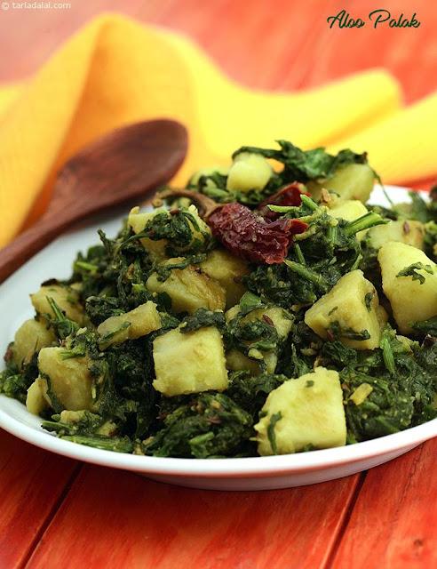 Aloo Palak Asian recipe