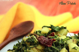 Aloo Palak Asian recipe