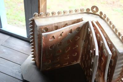 長野県生坂村の陶芸・器 白日窯 オブジェ