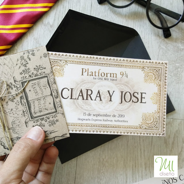 Boda Harry Potter