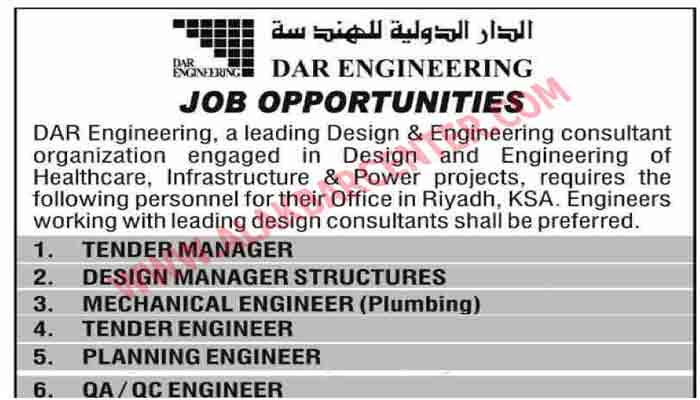 Engineering Jobs in Imam Trading and Contracting