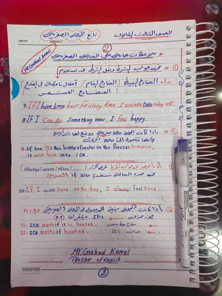 مراجعة اسلوب الشرط.. قاعدة if للصف الثالث الثانوي 2