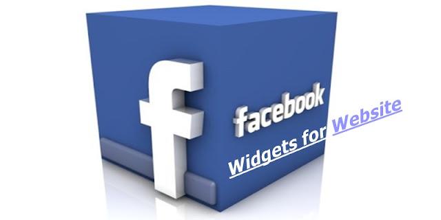 Facebook Widgets for Website